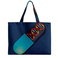 Dna Capsule Zipper Tiny Tote Bags
