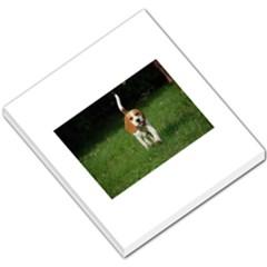 Beagle Walking Small Memo Pads