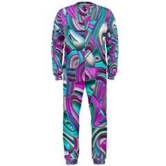 Art Deco Candy Onepiece Jumpsuit (men)