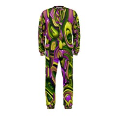 Art Deco Yellow Green OnePiece Jumpsuit (Kids)