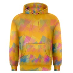 Fading squares Men s Pullover Hoodie