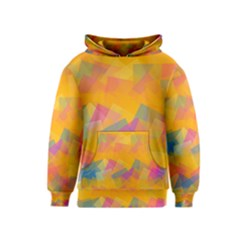 Fading squares Kid s Pullover Hoodie