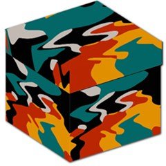 Misc Shapes In Retro Colors Storage Stool