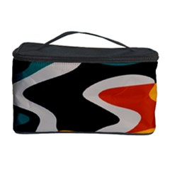Misc Shapes In Retro Colors Cosmetic Storage Case