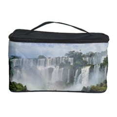 Waterfalls Landscape At Iguazu Park Cosmetic Storage Cases
