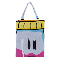 Purp Baby Bottle Classic Tote Bags