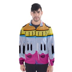 Purp Baby Bottle Wind Breaker (Men)
