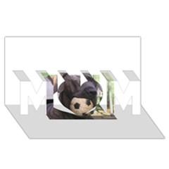 Cane Corso MOM 3D Greeting Card (8x4)