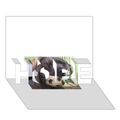Cane Corso HOPE 3D Greeting Card (7x5)