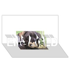 Cane Corso ENGAGED 3D Greeting Card (8x4)