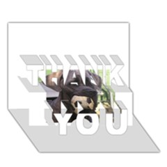 Cane Corso THANK YOU 3D Greeting Card (7x5)