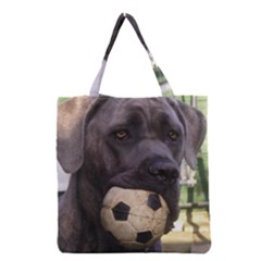 Cane Corso Grocery Tote Bags