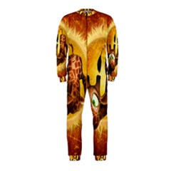 I m Waiting For You, Cute Giraffe Onepiece Jumpsuit (kids)