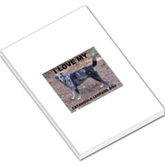 Catahoula Love With Picture Large Memo Pads