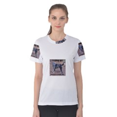 Catahoula Love With Picture Women s Cotton Tees