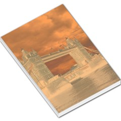London Tower Bridge Special Effect Large Memo Pads