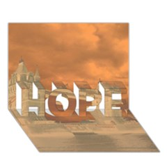 London Tower Bridge Special Effect Hope 3d Greeting Card (7x5)