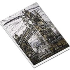 Metal Art London Tower Bridge Large Memo Pads