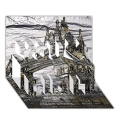 Metal Art London Tower Bridge You Did It 3D Greeting Card (7x5)