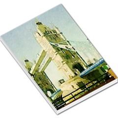 Watercolors, London Tower Bridge Large Memo Pads