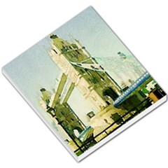 Watercolors, London Tower Bridge Small Memo Pads