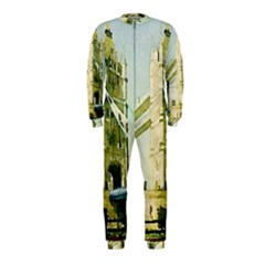 Watercolors, London Tower Bridge OnePiece Jumpsuit (Kids)