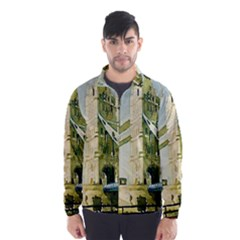 Watercolors, London Tower Bridge Wind Breaker (men)