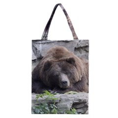 Tired Bear Classic Tote Bags