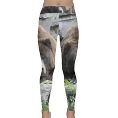 Tired Bear Yoga Leggings