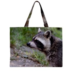 Racoon 1115 Zipper Tiny Tote Bags