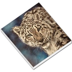 Snow Leopard Small Memo Pads