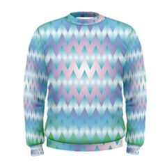 Fishbone Chevron ZIg Zag Rainbow Men s Sweatshirts
