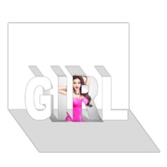 4239411344 56270cf808794 Articlex Girl 3d Greeting Card (7x5)