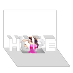 4239411344 56270cf808794 Articlex Hope 3d Greeting Card (7x5)