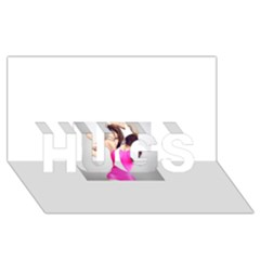 4239411344 56270cf808794 Articlex Hugs 3d Greeting Card (8x4)