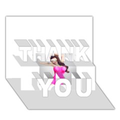 4239411344 56270cf808794 Articlex THANK YOU 3D Greeting Card (7x5)