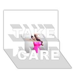 4239411344 56270cf808794 Articlex TAKE CARE 3D Greeting Card (7x5)
