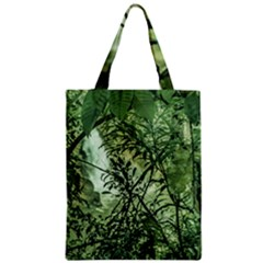 Jungle View at Iguazu National Park Zipper Classic Tote Bags