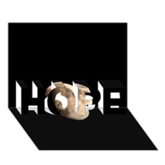 Half Moon Hope 3d Greeting Card (7x5)