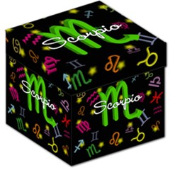Scorpio Floating Zodiac Name Storage Stool 12