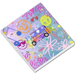Summer Of Love   The 60s Small Memo Pads
