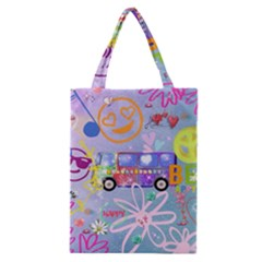 Summer Of Love   The 60s Classic Tote Bags
