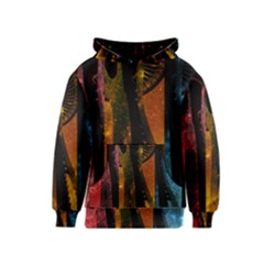 Colorful Space Needle Kid s Pullover Hoodies