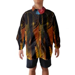Colorful Space Needle Wind Breaker (Kids)