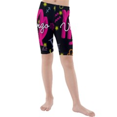 Virgo Floating Zodiac Sign Kid s swimwear