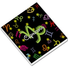 Capricorn Floating Zodiac Name Small Memo Pads