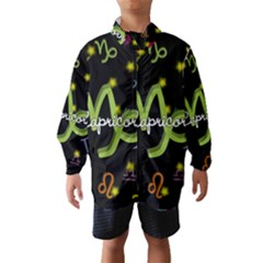 Capricorn Floating Zodiac Name Wind Breaker (Kids)