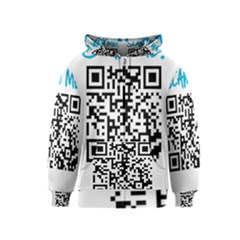 Scan Me! Kids Zipper Hoodies