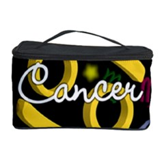 Cancer Floating Zodiac Name Cosmetic Storage Cases