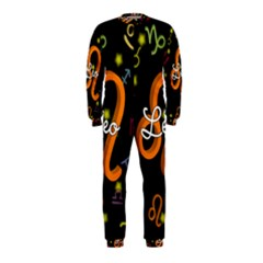 Leo Floating Zodiac Name OnePiece Jumpsuit (Kids)
